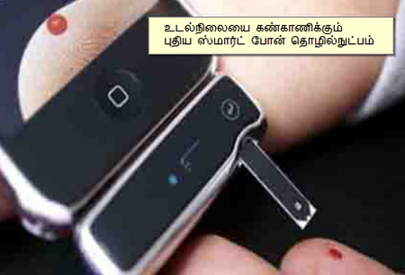 New smart phone technology to monitor health