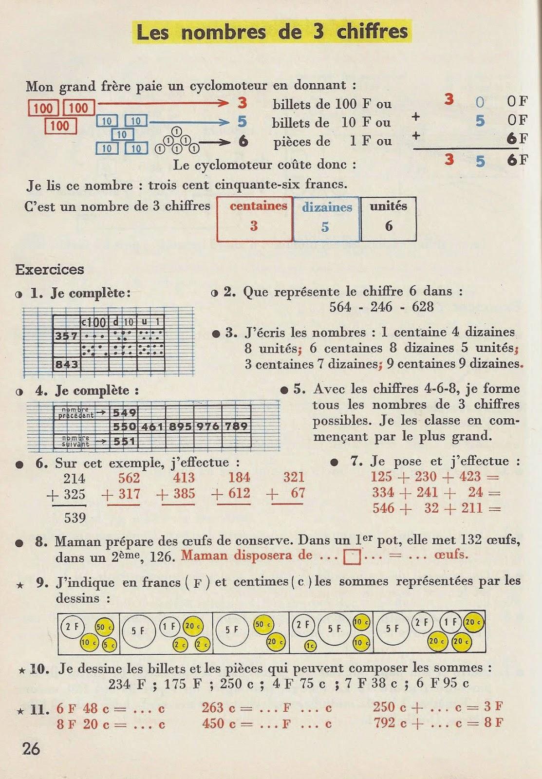 Manuels anciens calcul ce mois de novembre - Calcul nombre de parpaing ...