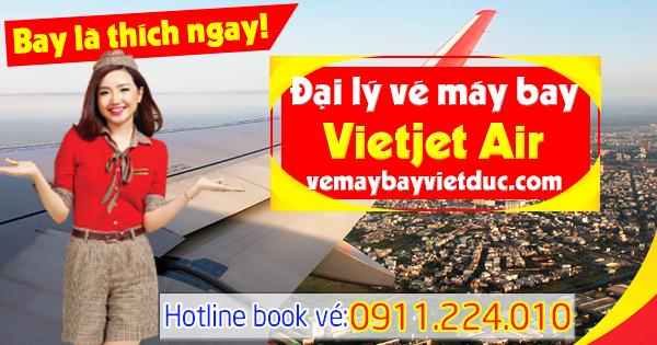 địa chỉ đại lý vé máy bay Vietjet Air giá rẻ