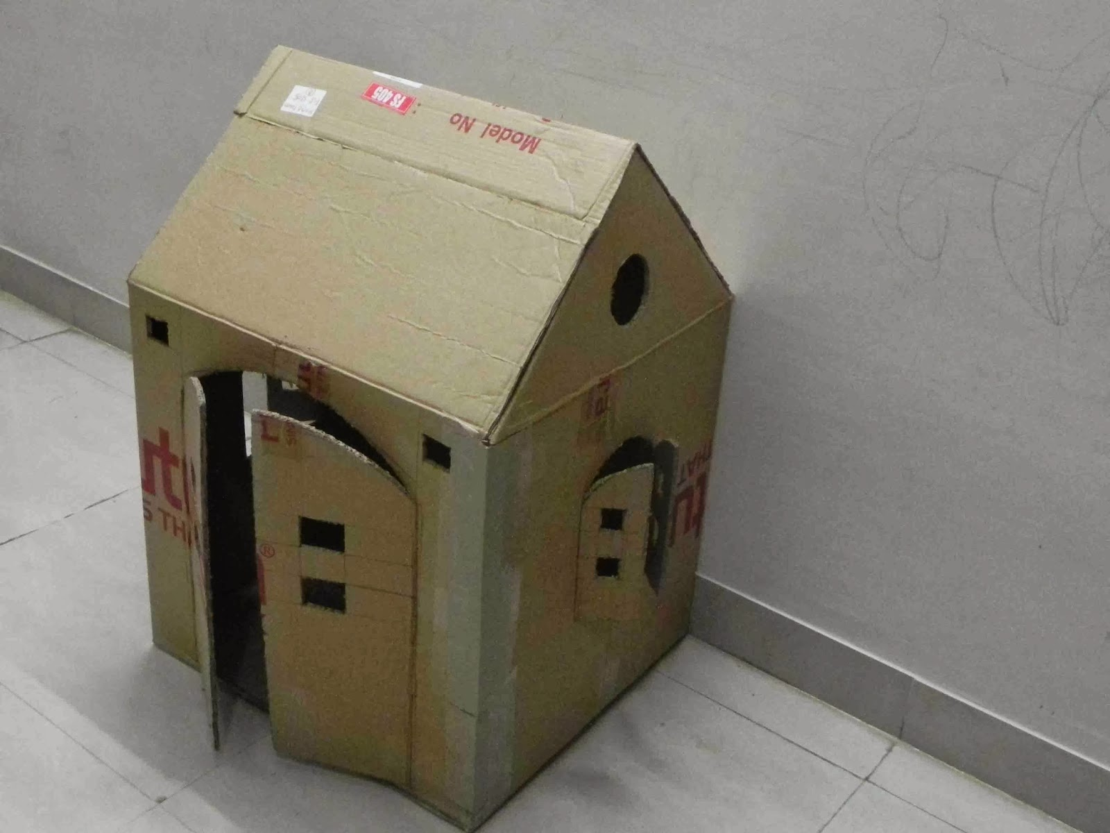 Art And Craft Ideas Easy Cardboard Craft How To Build A Cardboard