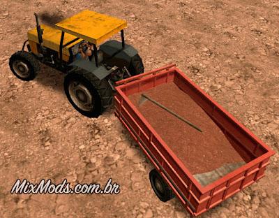 gta sa san mod trator tractor valtra 685 sa style leve lowpoly