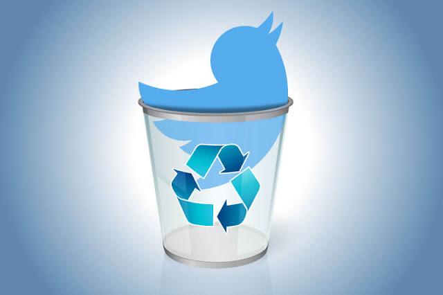شرح طريقة حذف جميع رسائل وتغريدات تويتر Twitter دفع واحد