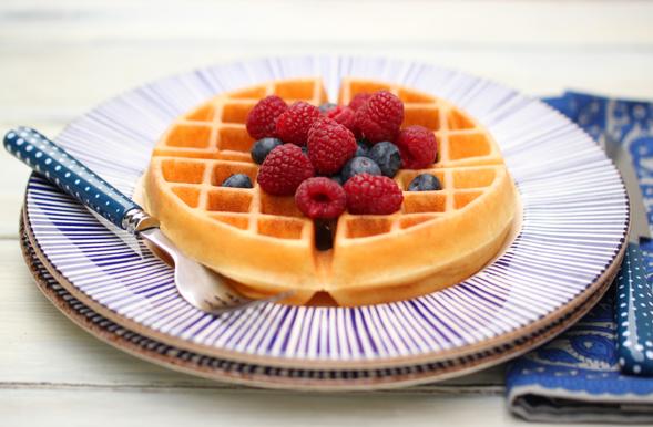 Best Gluten Free Waffles #dessert #cake