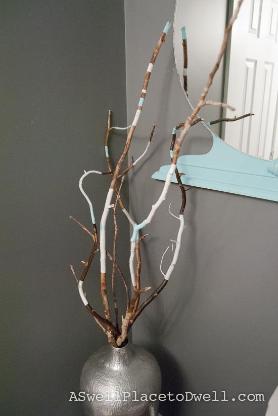 Tribal Twigs - easy DIY
