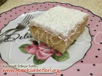 tatlılar, sütlü tatlılar, tatlilar, trileçe, balkan tatlısı, trileçe balkan tatlısı, değişik tatlı tarifleri