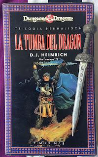 Portada del libro La tumba del dragón, de D. J. Heinrich