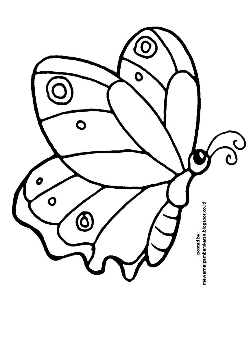 Koleksi Gambar Kartun Kupu Kupu Dan Bunga Phontekno