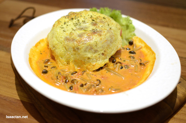 Tomato Cream Egg Rice - RM19.90