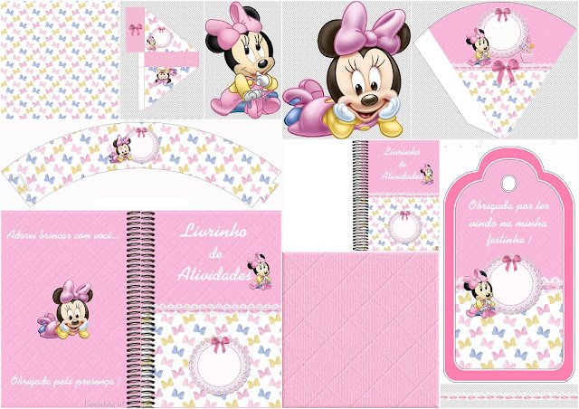 Lovely Minnie Baby: Free Party Printables.
