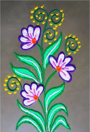 Easy Rangoli Designs For Diwali For Kids