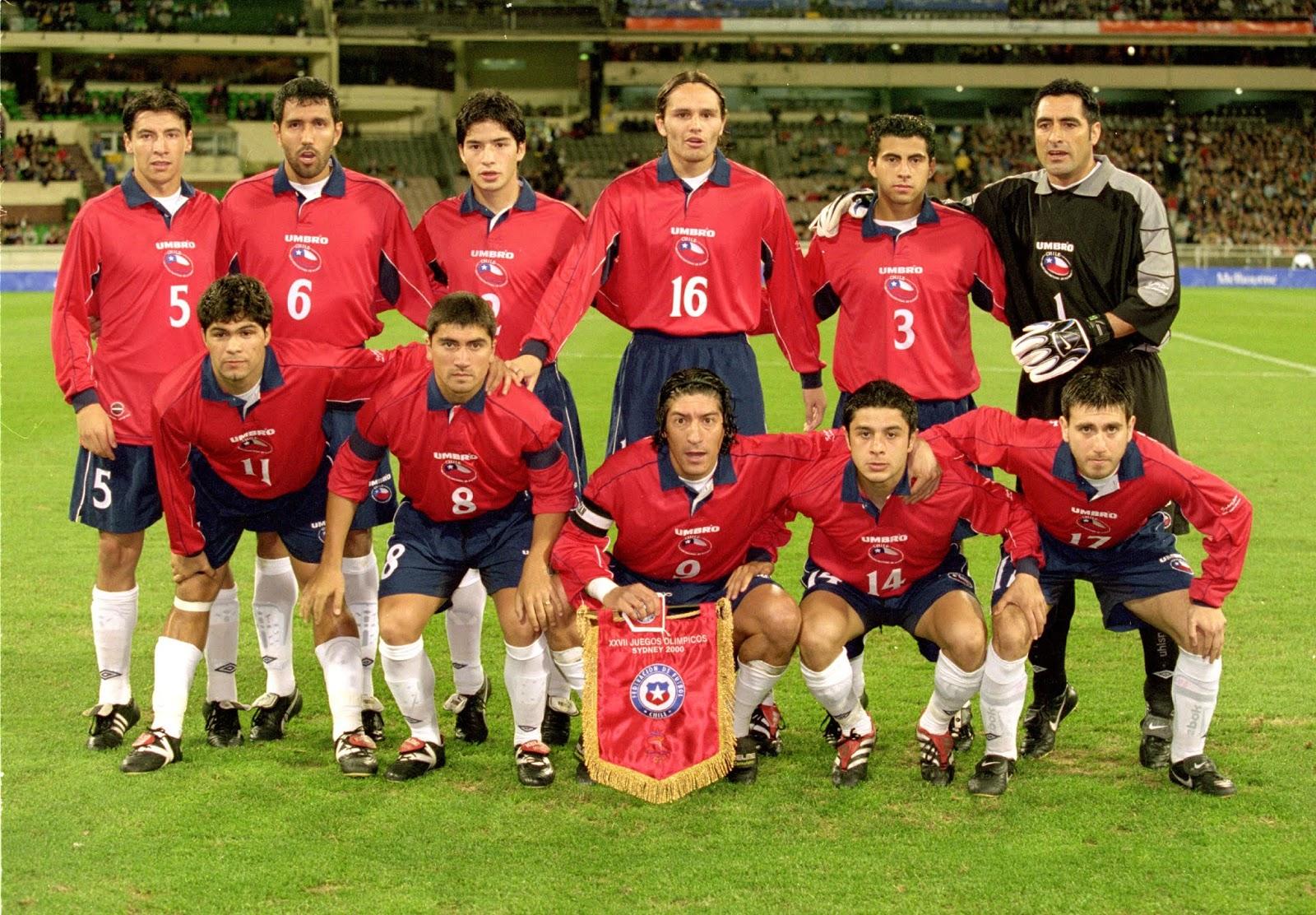 Formación de Chile ante Nigeria, Juegos Olímpicos Sídney 2000, 24 de septiembre