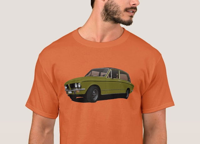 Old timers Triumph Dolomite t-shirt