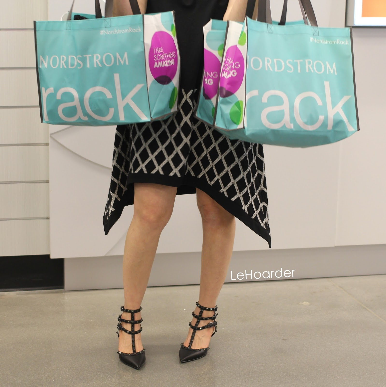 4d4c051b7f So let me give you a quick tutorial on how to shop a Rack opening. First  you head to the accessories. I asked if they had any designer bags (didn t)  so I ...