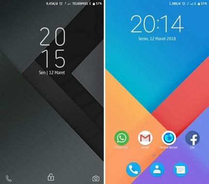 Tema MIUI Xiaomi Modern UI Mtz
