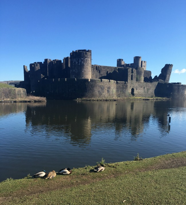 #MySundayPhoto Number 14 view of Caerphilly Castle across the moat.