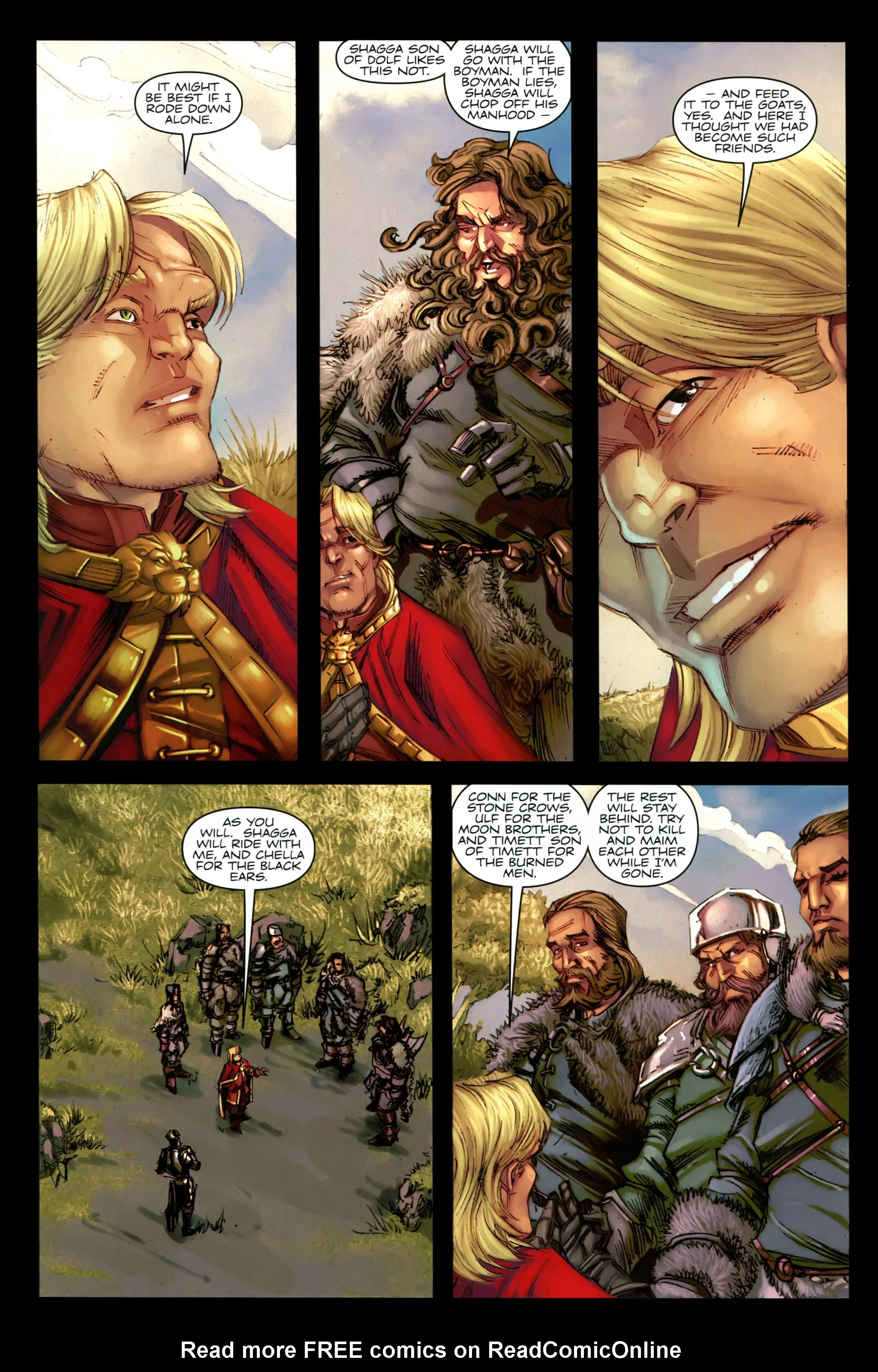 Read online A Game Of Thrones comic -  Issue #19 - 4