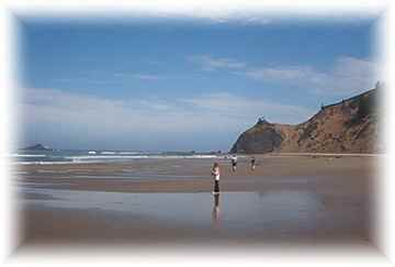 Lincoln City vacation rental cabin Oregon coast