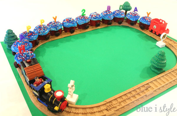 Entertaining With Style Two Super Easy Train Cake Options