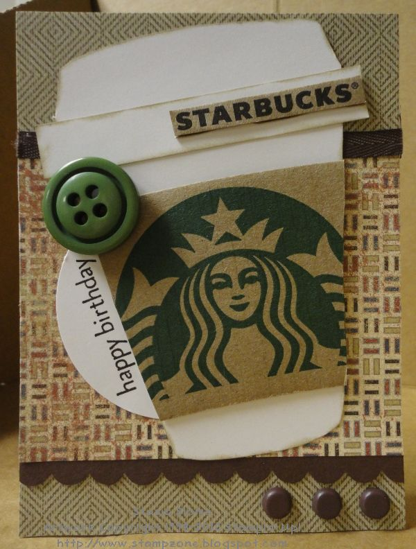 Happy Birthday Starbucks Gift Card