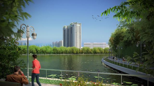 Eco Dream chỉ cách công viên Chu Văn An 5 phút đi bộ