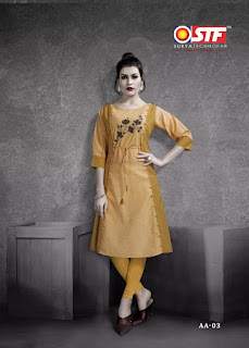 Stf Adaa cotton kurtis Summer wear boutique and Showroom Collection
