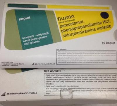 Harga Flumin Obat Flu Ampuh Terbaru 2017