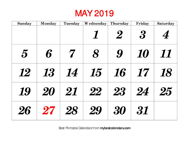 May 2019 Calendar, May 2019 Calendar Printable, Free May 2019 Calendar, Blank May 2019 Calendar, Print May 2019 Calendar, May 2019 Calendar Holidays, May Calendar 2019, Calendar May 2019
