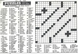 The Pre-Shortzian Puzzle Project: Pre-Shortzian Constructor