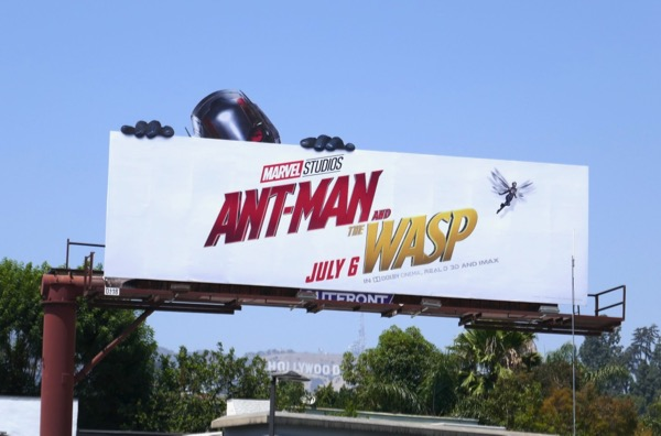 Ant-Man and Wasp extension cut-out billboard