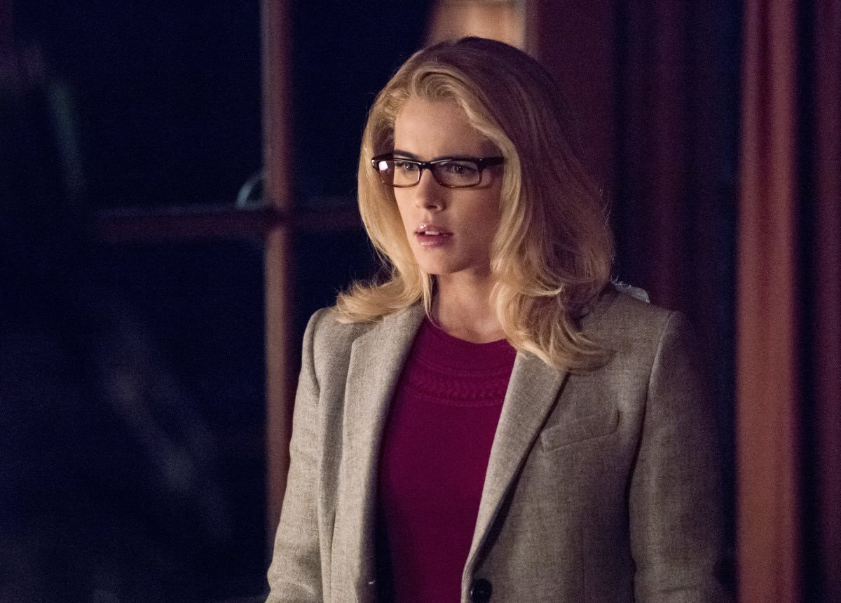 Emily Bett Rickards en Arrow de The CW