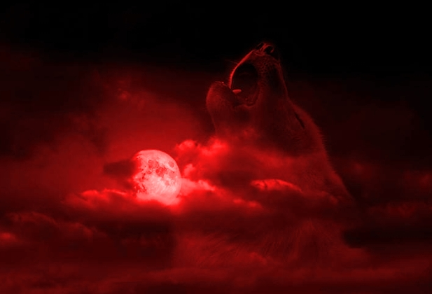 blood red wolf moon eclipse - photo #26