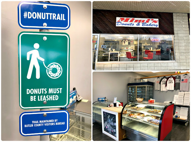 If you are starting to get a little full from your travels by the time you reach Mimi's Donuts & Bakery, then you are in luck! They happen to be one of the only donut shops on the Butler County Donut Trail that offers mini versions of some of their most popular donuts.
