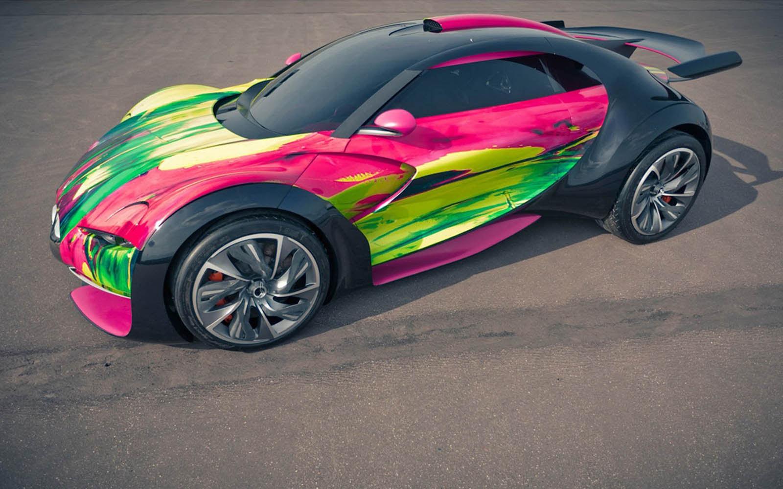 Wallpapers citroen survolt concept car wallpapers for Car paint designs pictures