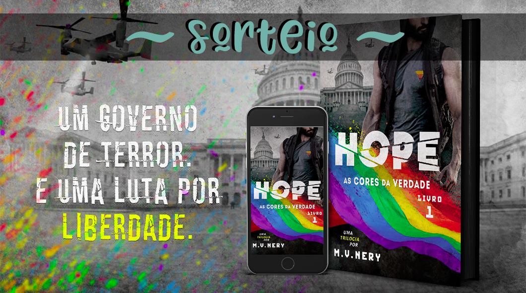Sorteio do livro HOPE: As Cores da Verdade - Livro 1 | Promoção