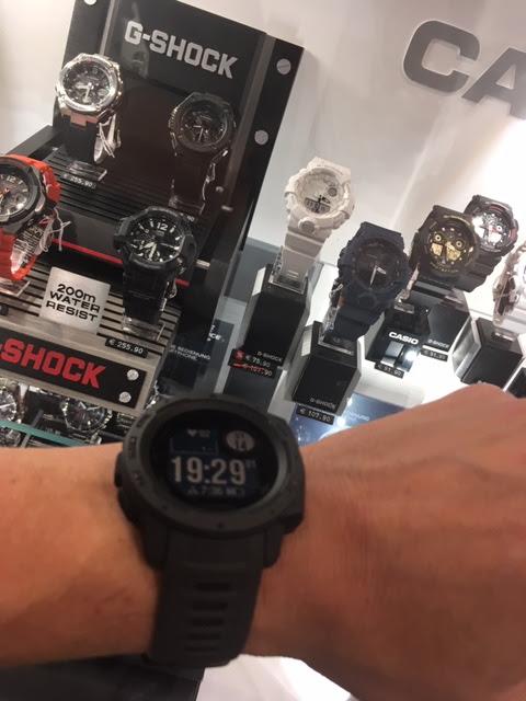Garmin Instinct versus Casio G-Shock ac517b657d