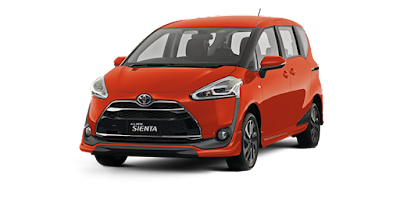 Sewa Toyota all New Sienta 2017 Padang