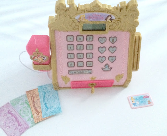 Disney Princess Cash Register and Contents