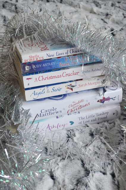 Christmas Themed Library Book Haul