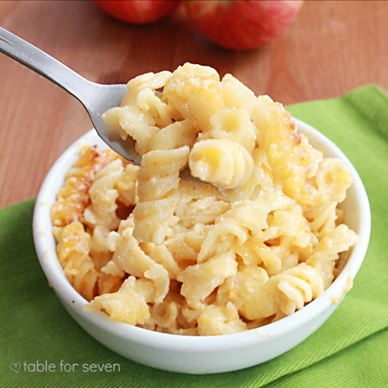 Apple Cider Mac n Cheese