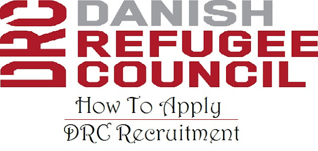 How to Apply Danish Refugee Council Vacancies