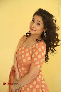Telugu Actress Santoshi Sharma Latest Stills in Salwar Kameez at HBD Movie Teaser Launch  0035.JPG
