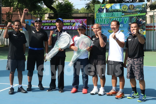 Pengkab PELTI Jember Gulirkan Kejurnas Tenis Unej Cup V