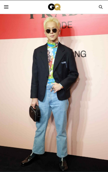 GQ includes MINO in Top 10 best dressed men of the week