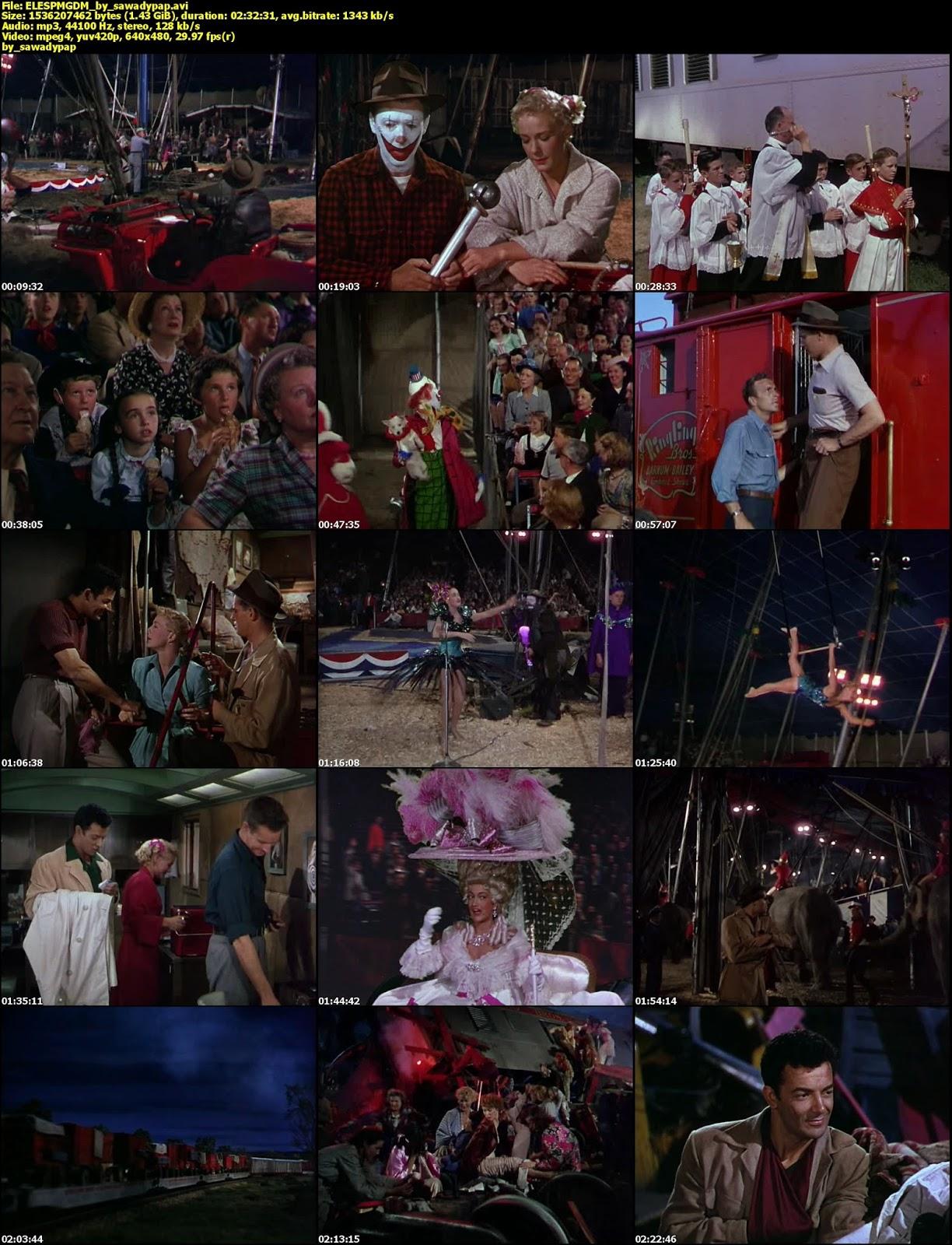 El Espectaculo más Grande del Mundo [1952] [DVDRip] [Latino]