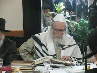 Rabbi Berland with books