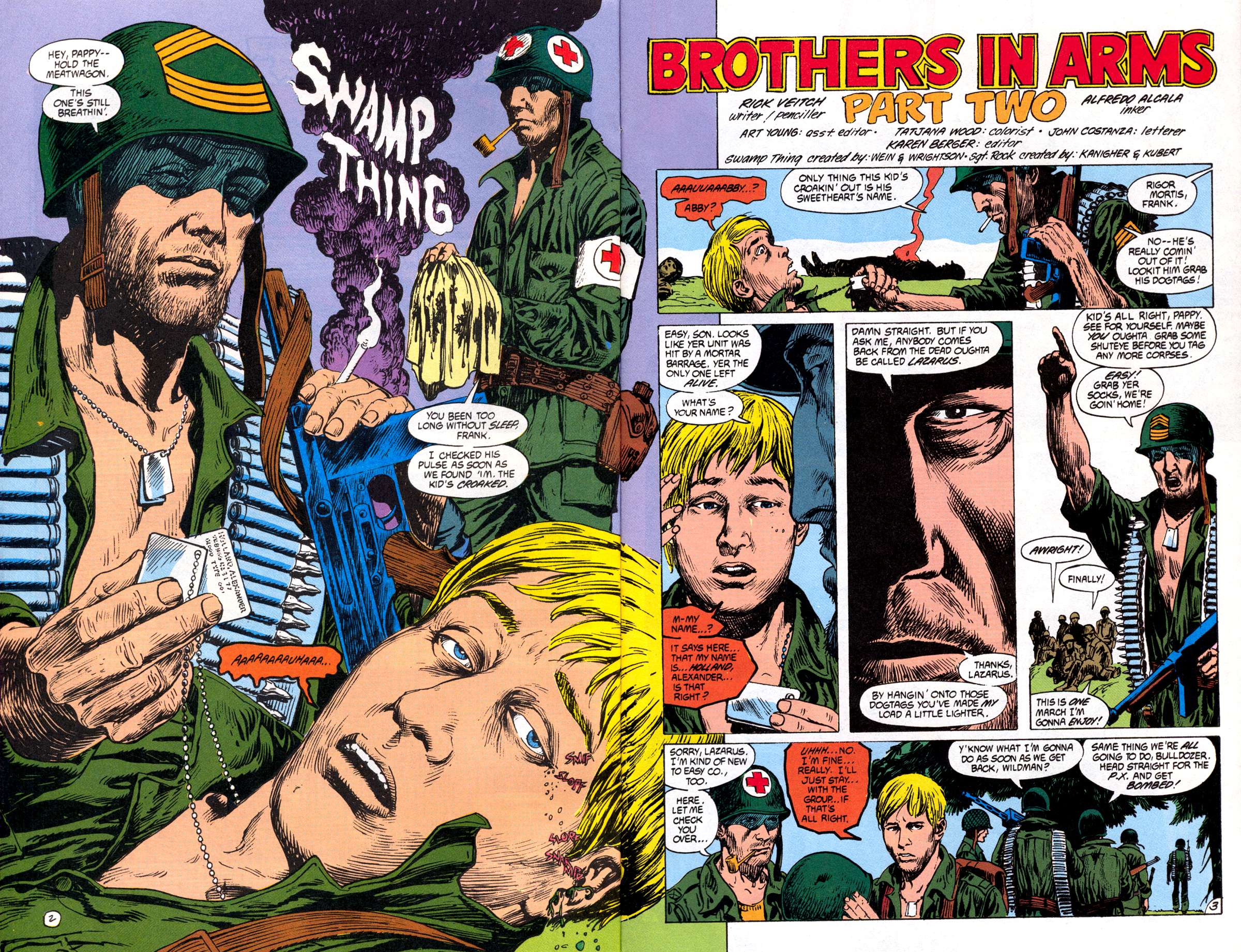 Swamp Thing (1982) Issue #82 #90 - English 4