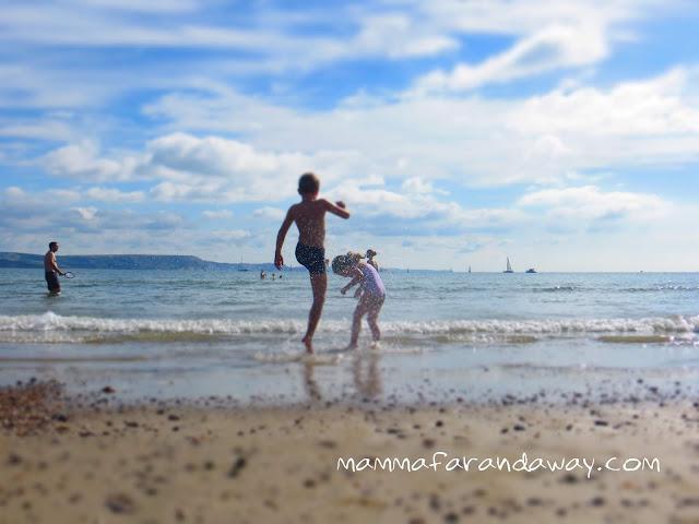 in spiaggia inghilterra