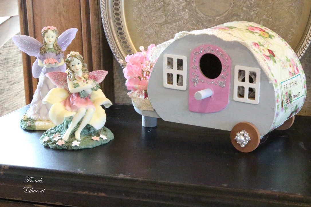 French Ethereal: Crafts to Make ~ A Shabby Chic Glamper