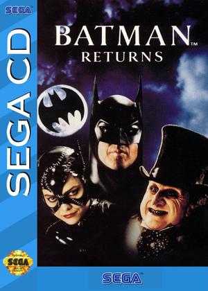 The Vinyl Frontier Spencer Nilsen Batman Returns Sega Cd