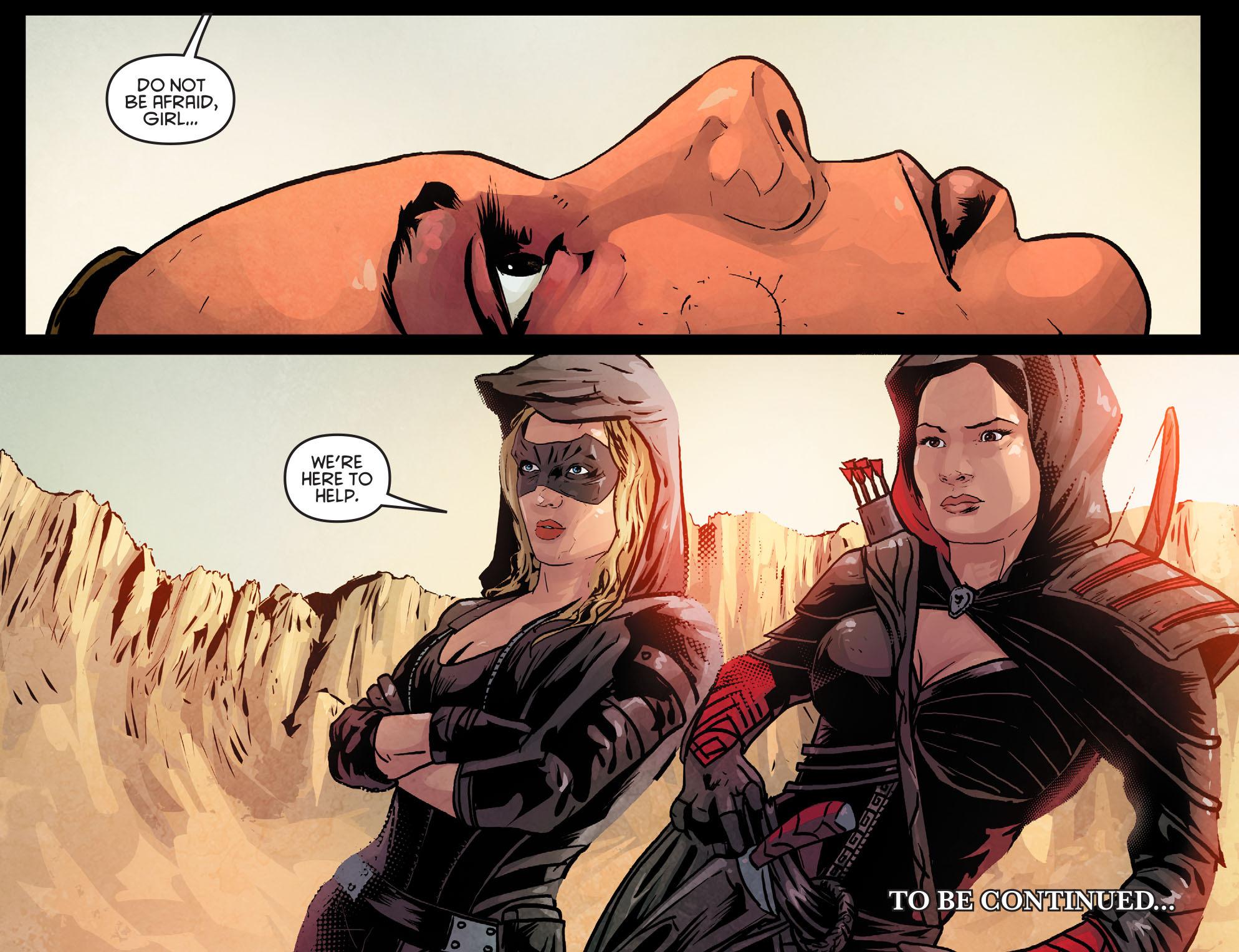 Read online Arrow: Season 2.5 [I] comic -  Issue #11 - 22